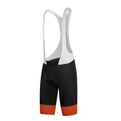Zero rh+ Hero Bibshort - Black/Dark Orange