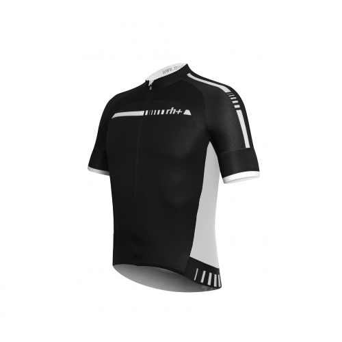 Zero rh+ Hexagon Jersey FZ - Black/White