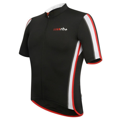 Zero rh+ Sprint Jersey FZ - Black/White/Red