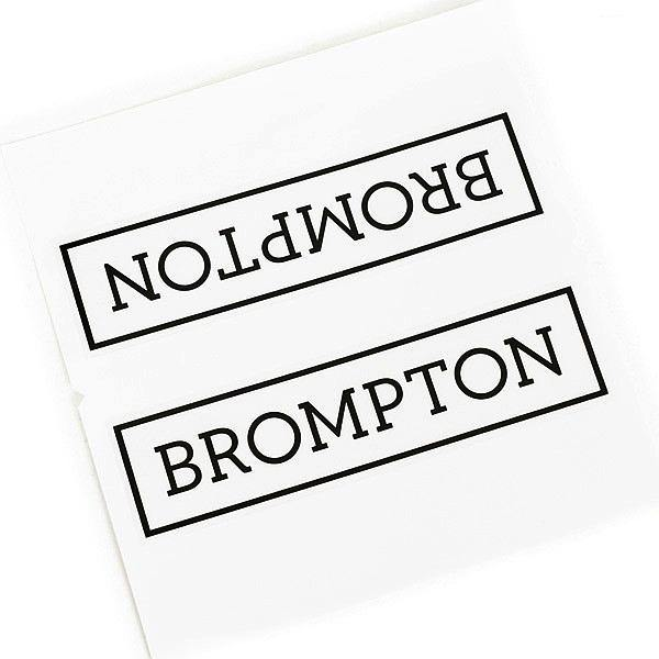 Brompton Decal - Black