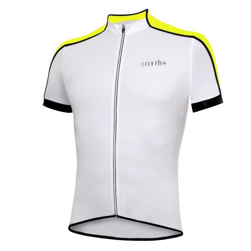 Zero rh+ Prime Jersey FZ – White/Acid Yellow