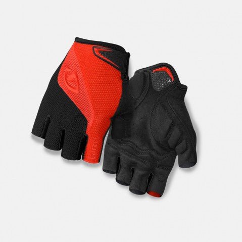 Giro Bravo Gloves - Red/Black