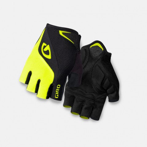 Giro Bravo Gloves - Black/Highlight Yellow