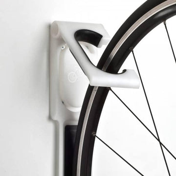 Cycloc Endo Wall Bike Rack - White - SpinWarriors