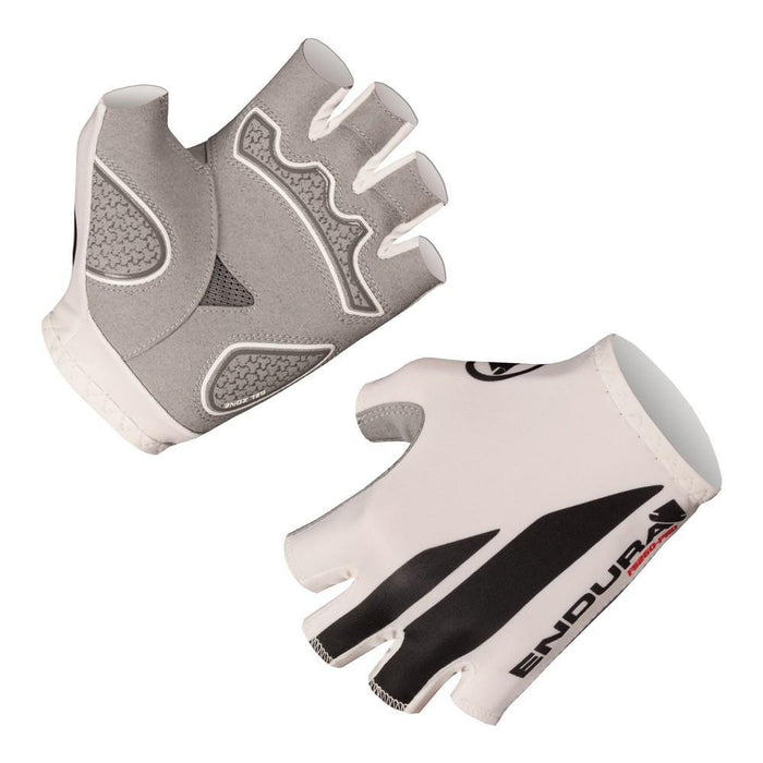 Endura FS260 Pro Print Mitt Gloves - White