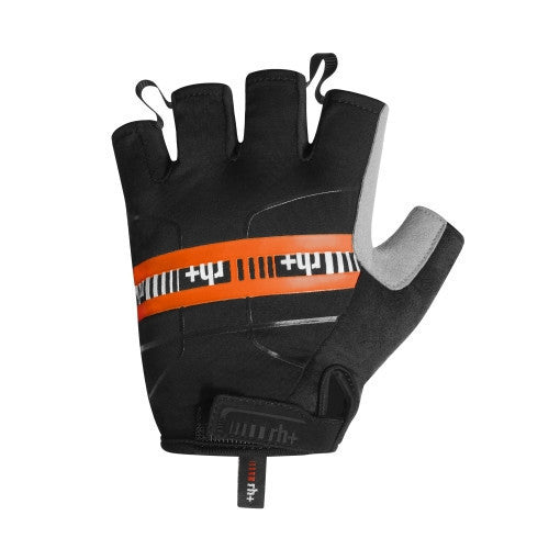 Zero rh+ Academy Gloves - Black/Dark Orange