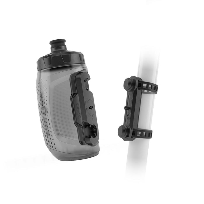 Fidlock Twist Bottle 450 + Uni Base - Transparent Black