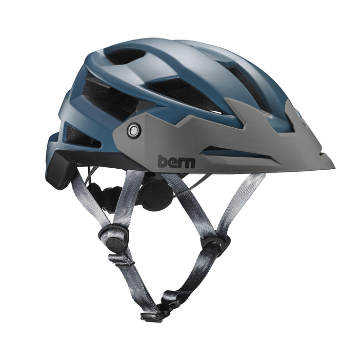 Bern FL-1 Trail Helmet - Satin Muted Teal