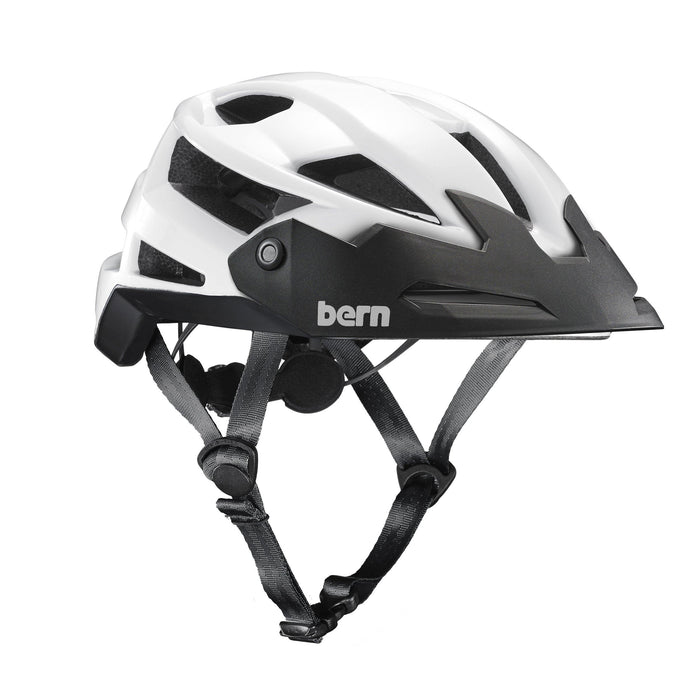 Bern FL-1 Trail Helmet - Gloss White