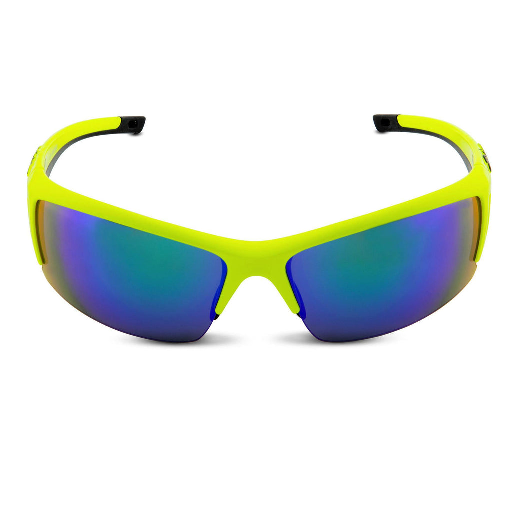 Spiuk Binomio Sunglasses - Yellow Hi Vis/Black
