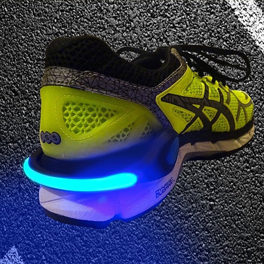 Schatzii FireFly Running & Biking Safety Lights - Blue