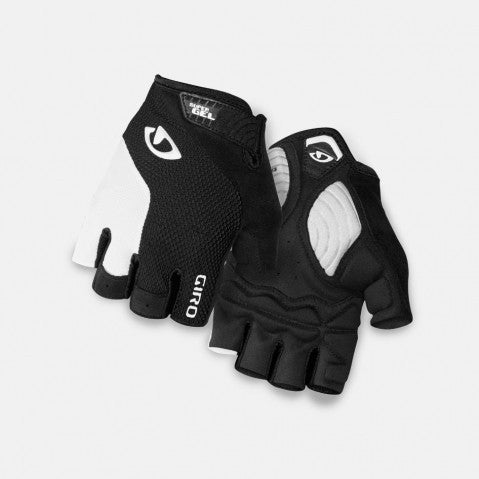 Giro Strade Dure Supergel Gloves - White/Black
