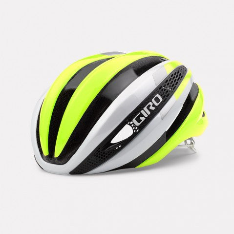 Giro Synthe Helmet - White/Highlight Yellow