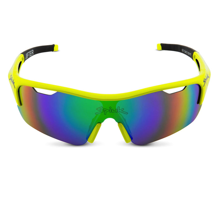 Spiuk Jifter Sunglasses - Yellow Hi Vis/Black