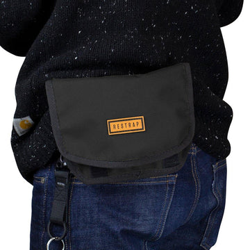 Restrap Hip Pouch - Black - SpinWarriors