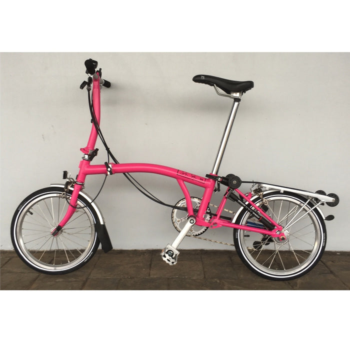 Brompton S6R - Hot Pink/Hot Pink