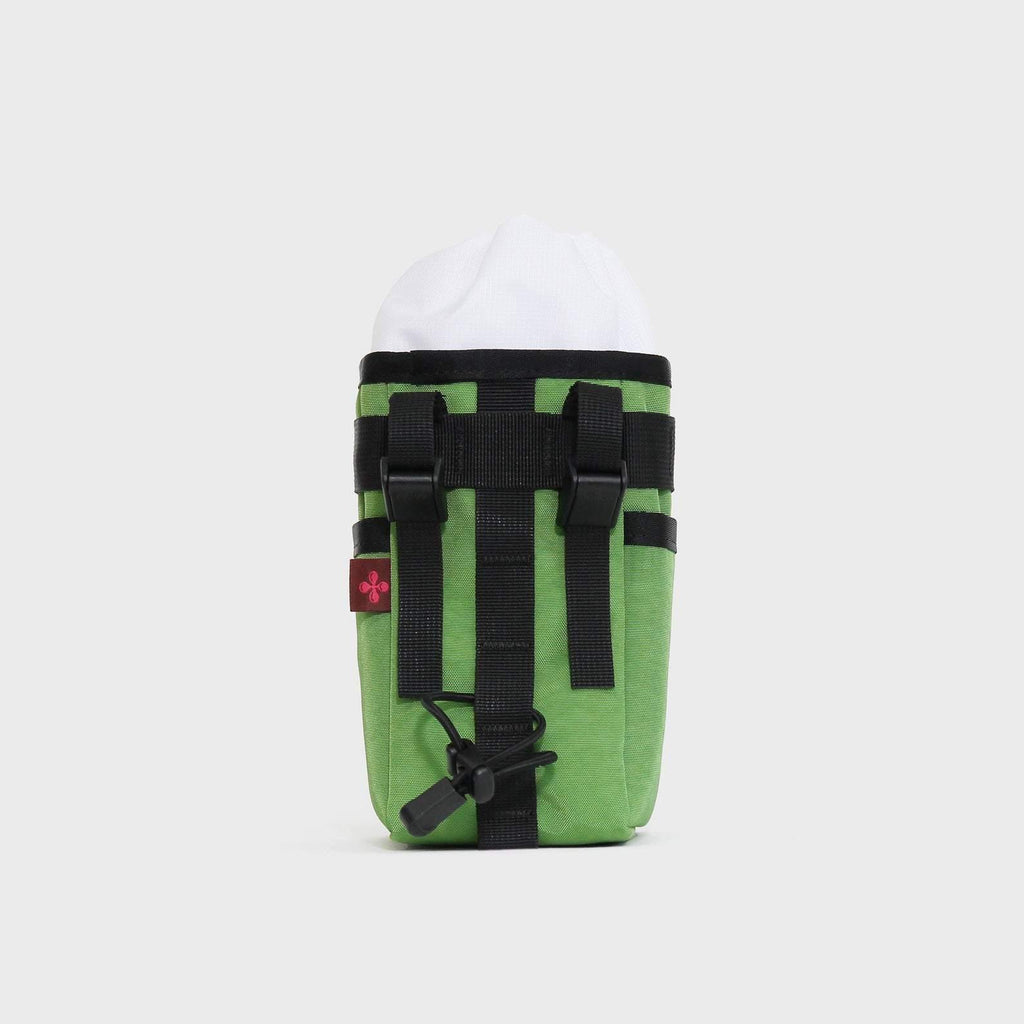 Practico Arte HGE Brompton Stem/Saddle Bag - Green