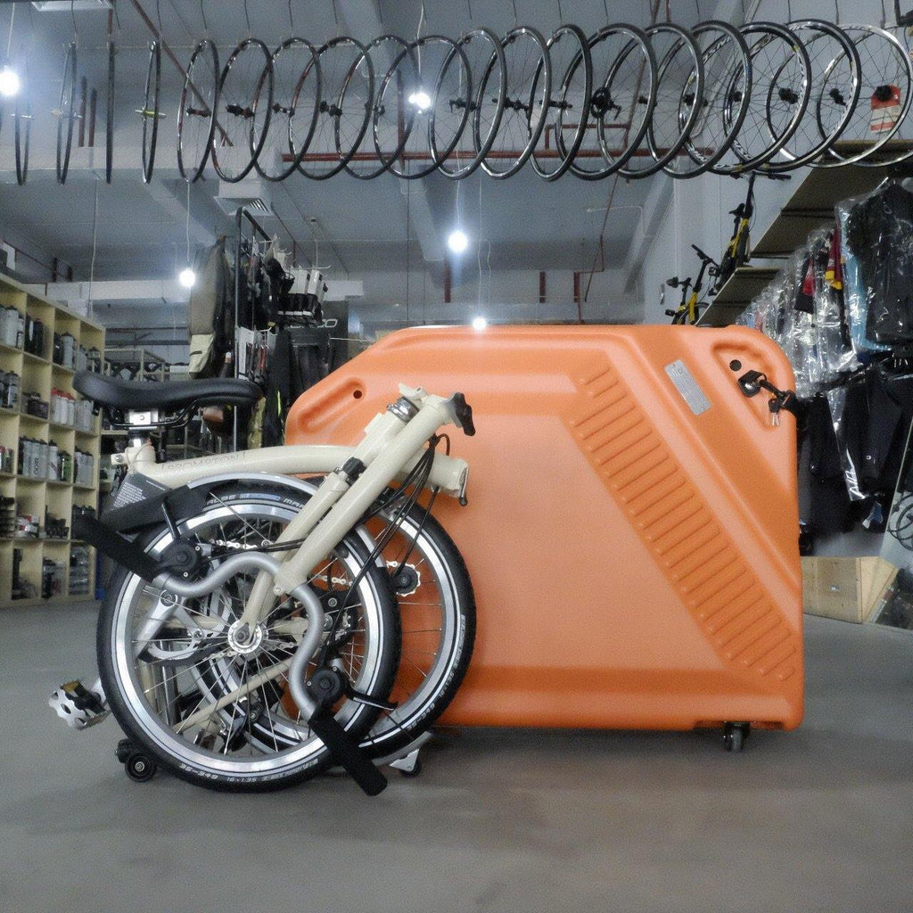 Fyrlyt F-20 Folding Bike Case - Orange