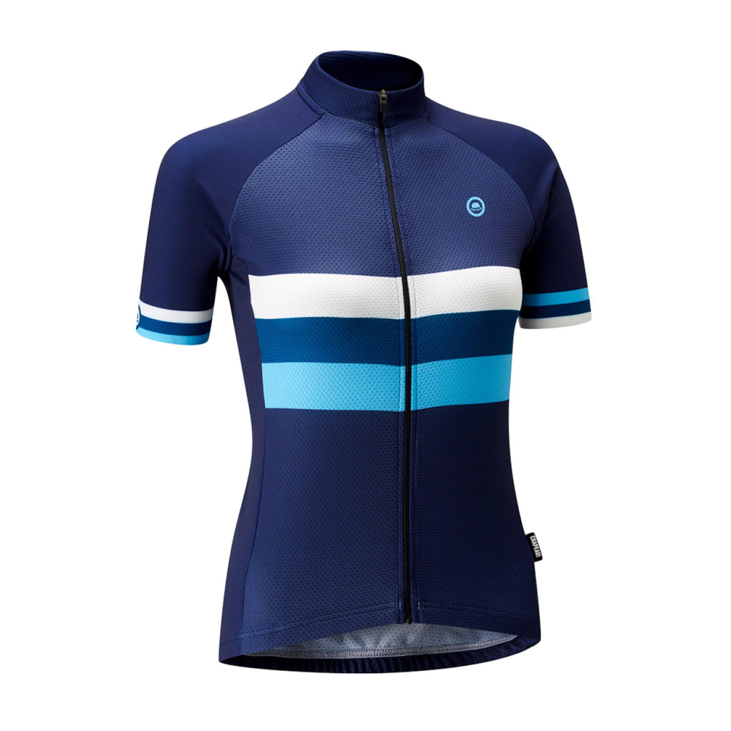 Chapeau! Club Stripe Woman Jersey - Indigo