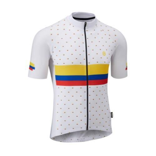 Chapeau! Club LTD White Jersey - Nick Loves Colombia