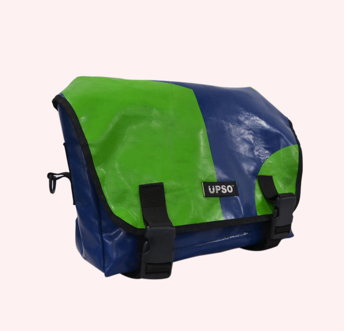 UPSO Brompton Ferrybridge Folder Bag - Green/Blue