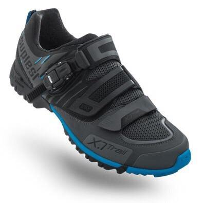 Suplest Offroad Performance MTB Shoes - Black/Blue