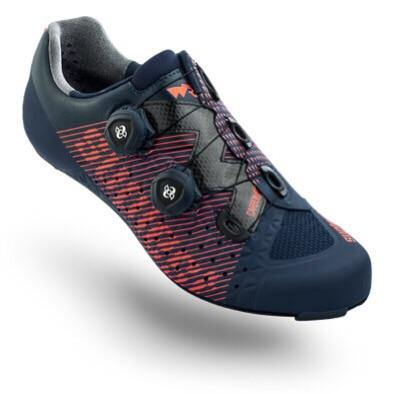 Suplest Edge/3 Pro Road Shoes - Navy/Coral