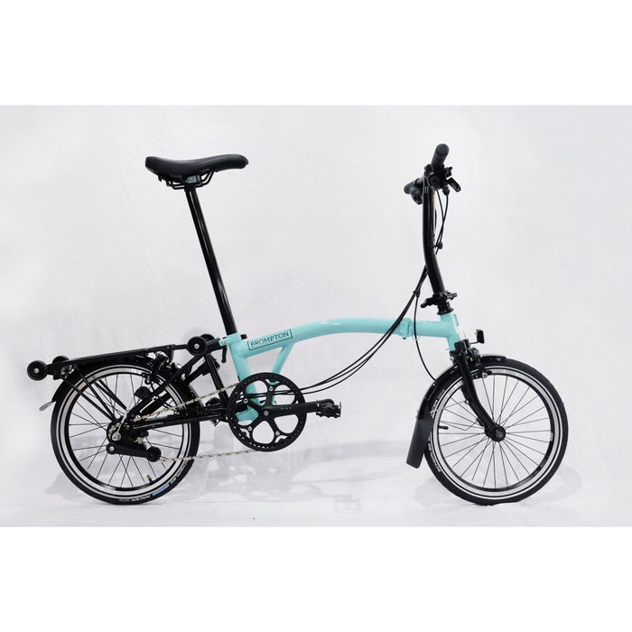Brompton S6R 2019 Black Edition - Turkish Green Glossy