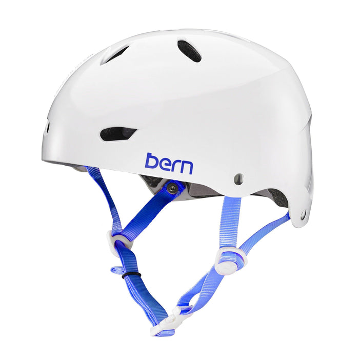 Bern Team Brighton Helmet - Gloss White