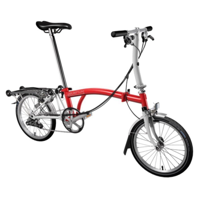 Brompton S6R 2019 - Red/Papyrus White