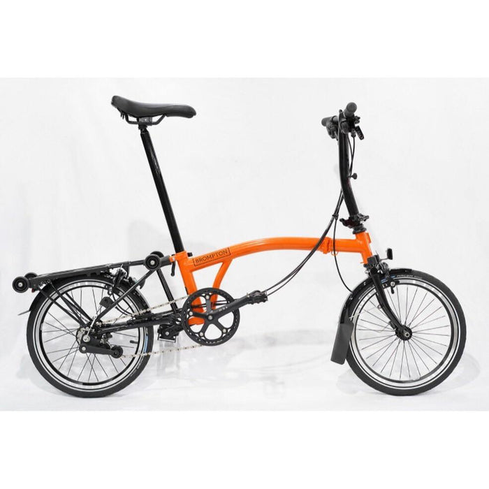 Brompton S6R 2019 Black Edition - Gloss Orange