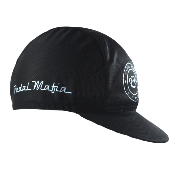 Pedal Mafia Cycling Cap - Black Blue