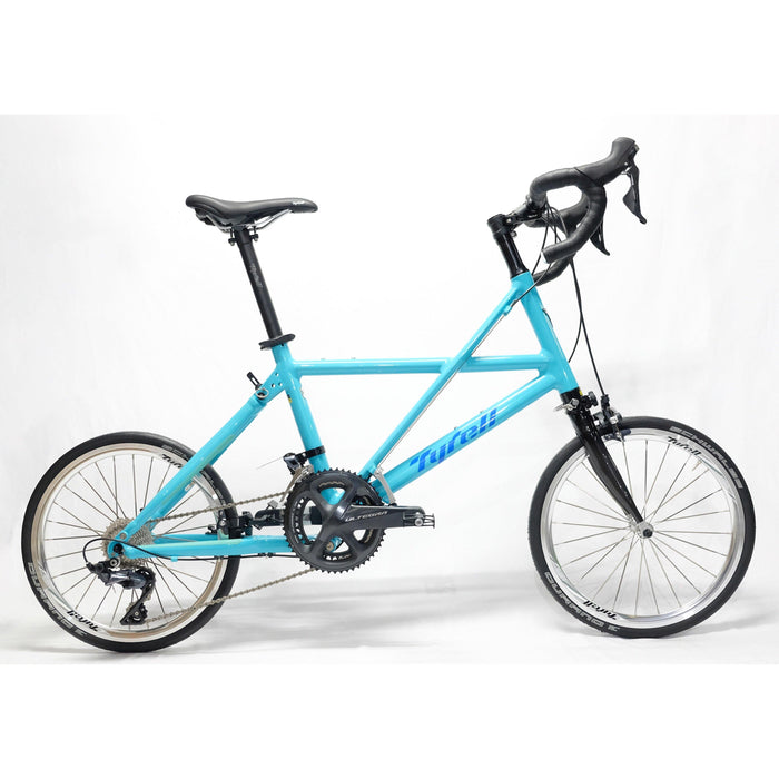 Tyrell FX Folding Bike (Drop Bar/Shimano Ultegra) - Turquoise