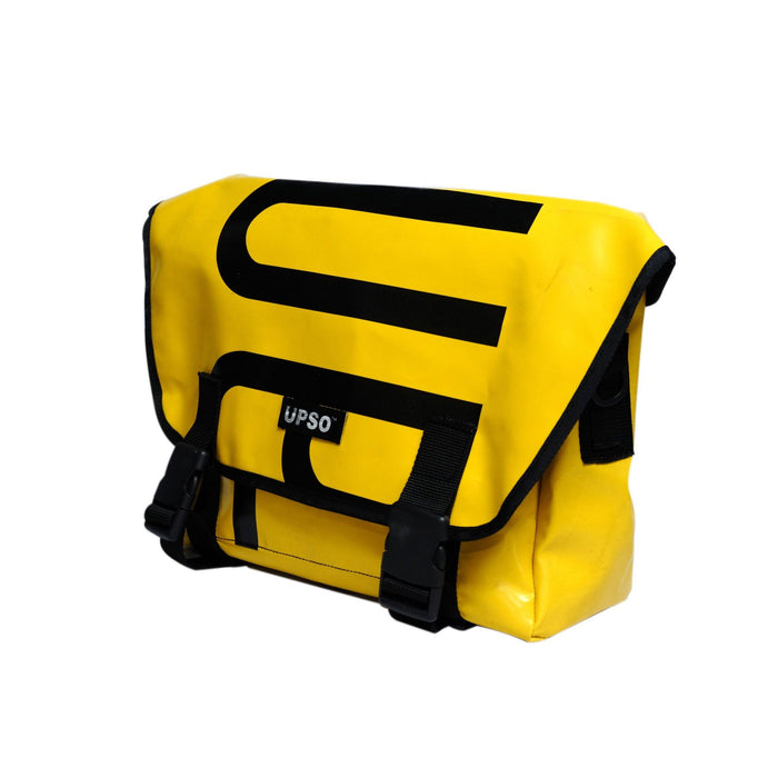 UPSO Brompton Ferrybridge Folder Bag - Yellow/Black