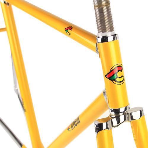 Cinelli Supercorsa Road Frameset - Yellow Curry