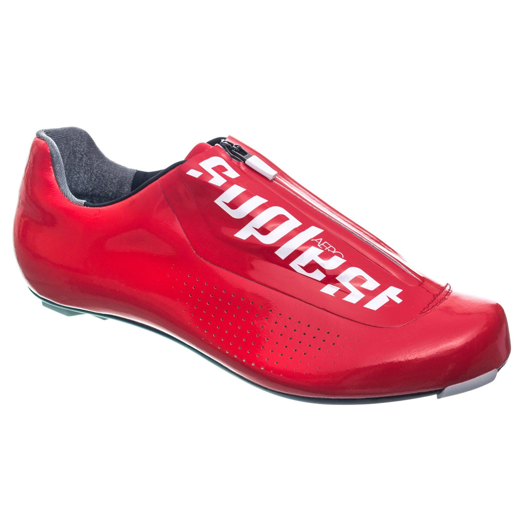 Suplest Road Pro Aero Shoes - Red Swiss Cycling Team