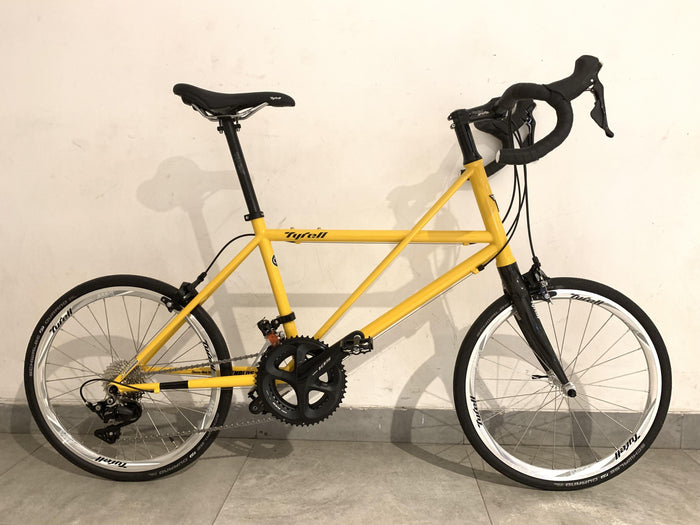 Tyrell CX Minivelo (Dropbar/Shimano 105) - Golden Yellow