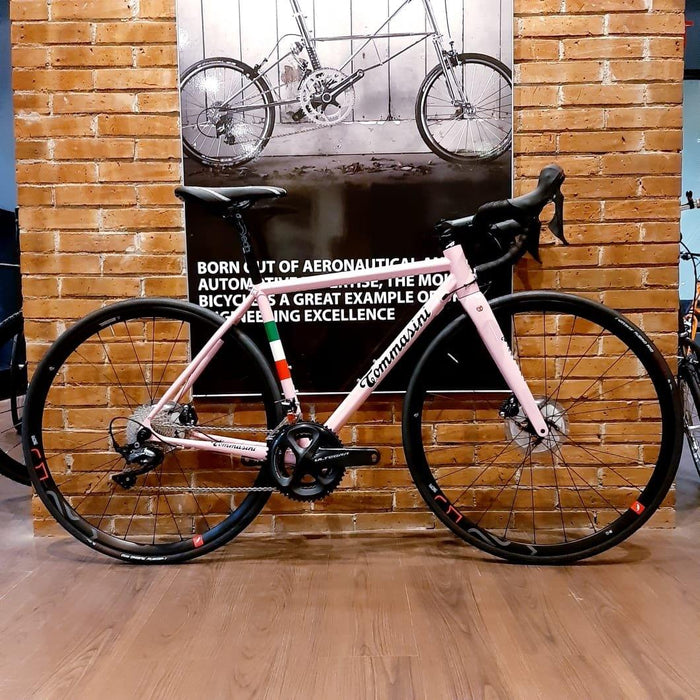 Tommasini Fire Road Disc Bike with Shimano Ultegra - Pink Giro de Italia