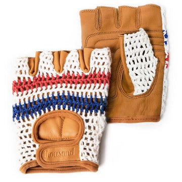 Thousand De Franc Gloves - Red Blue - SpinWarriors