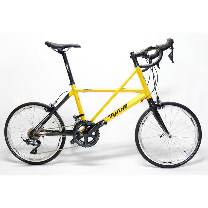 Tyrell CSI Minivelo (Drop Bar/Shimano Ultegra) - Golden Yellow