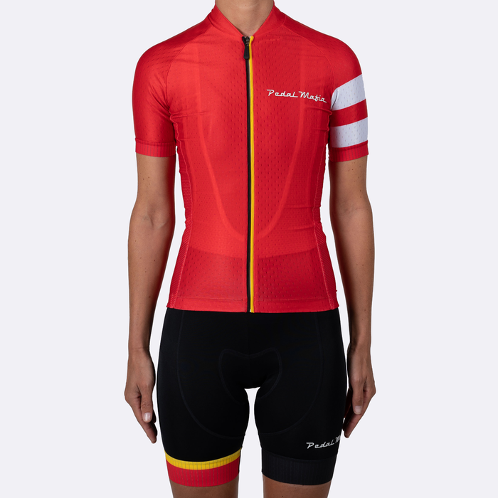 Pedal Mafia Woman Flanders LTD Kit (Jersey + Bibshort)