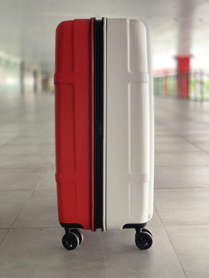 President Brompton Bike Case - Red/White