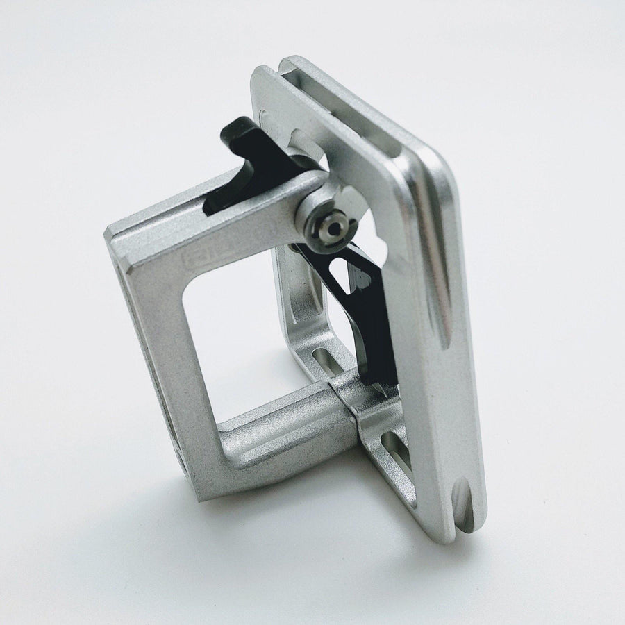 Ridea FCB1-SR Brompton Front Carrier Block - Silver - SpinWarriors