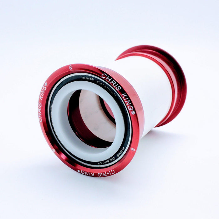 Chris King Press Fit 30 Ceramic Bottom Bracket - Red