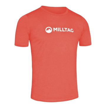 Milltag Hot Coral Classic T-Shirt - SpinWarriors