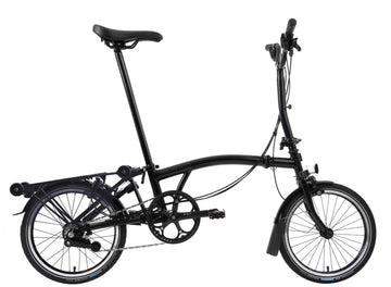 Brompton M6R Black Edition - Black - SpinWarriors
