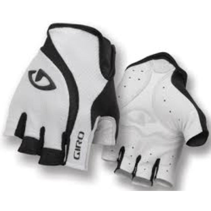 Giro Zero Gloves - White/Black NEW