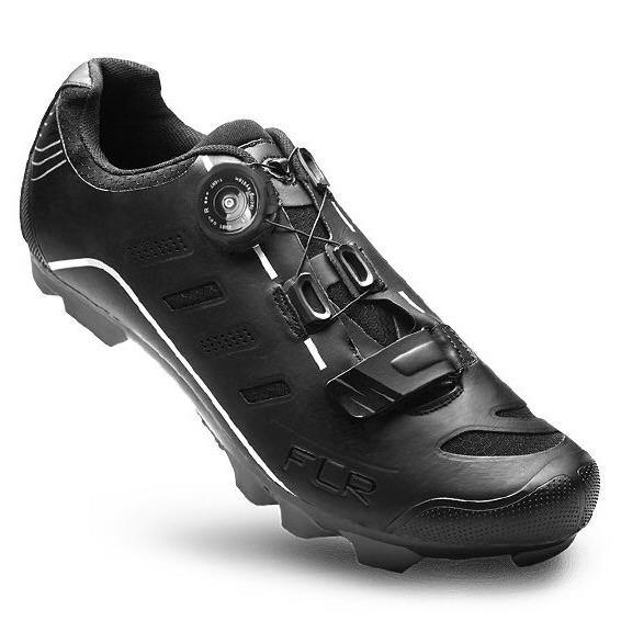 FLR F-75 II MTB & Gravel Shoes - Black - SpinWarriors