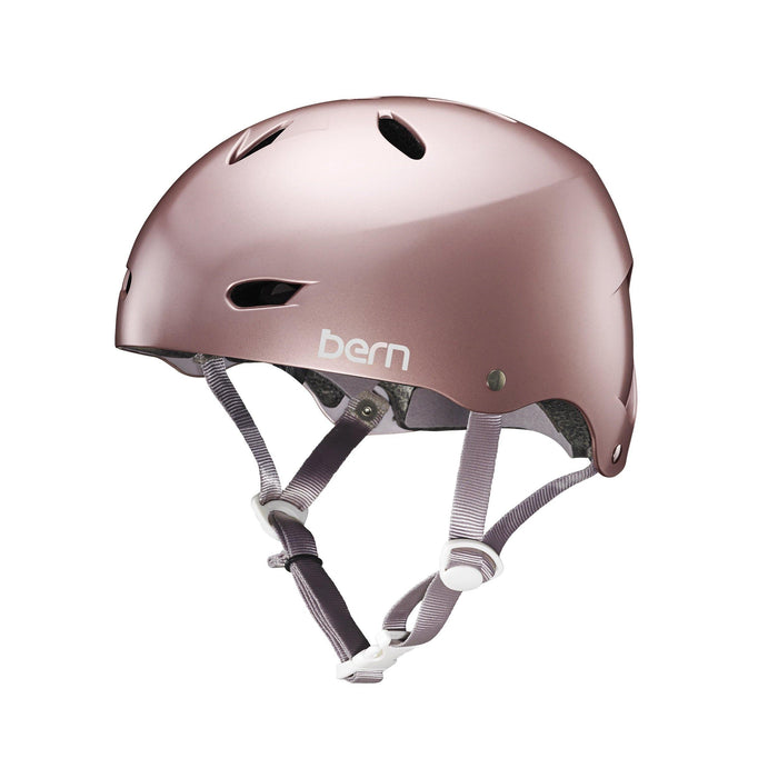Bern Team Brighton Helmet - Satin Rose Gold