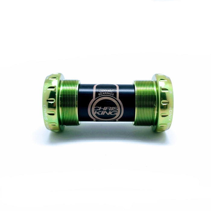 Chris King Threadfit 24 Ceramic Bottom Bracket - Sour Apple